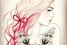 art / by Jade De Baca