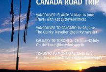 #ExploreCanada Road Trip / Travelator Media on a two month, epic road trip travelling across the country from Vancouver on the west coast to Montreal in the east.