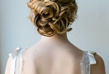 Danni wedding hair