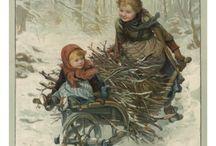 Cartes anciennes Noel