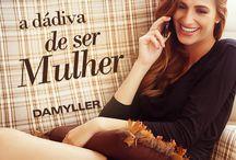 Mulher Damyller! - 8 de Março : Dia Internacional da Mulher / Independente, corajosa, moderna, e determinada a conquistar aquilo que deseja. Desperta este desejo e encanta com toda sua sensualidade. Essa é você: a dádiva que dá sentido aos nossos dias; sabe o que quer e completa seu estilo vestindo #Damyller ! #8deMarço #DiaDaMulher / by Damyller