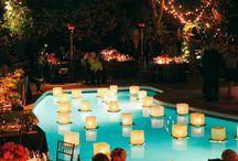 Poolside Wedding Inspiration