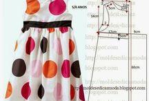 patrones ropa niña