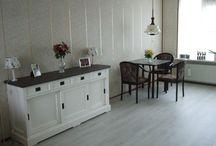 PVC vloer / DE trend op gebied van vloeren. De hout-, tegel-, of betonlook PVC vloer. Mooie uitstraling en ideaal voor op vloerverwarming!