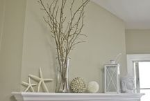 Coastal decor pale and neutral / Coastal decor focusing on neutrals, textures and natural materials - sophisticated style.