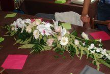 Décoration salle / Décoration fleurs, ballons, ... pour mariage