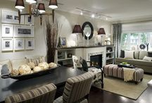 Living Room Ideas / by Jenny Anderson-Miller