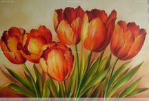 flores para pintar
