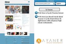 Referanslarımız / Sektörel Yazılım, Özel Yazılım, Web Sitesi ve Yönetim Danışmanlığı Hizmetlerimizle İlgili İşlerimiz ve İş Ortaklarımız.