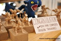 How to Train Your Dragons Birthday Party / by Kimberly Neukomm