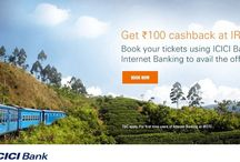 ICICI Bank Internet Banking Offers - Get Flat Rs.100 Cashback on Train Bookings at IRCTC