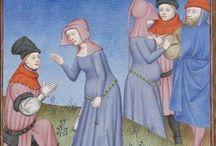 Publius Terencius Afer, Comoediae [comédies de Térence] ca. 1411; Bibliothèque de l'Arsenal, Ms-664