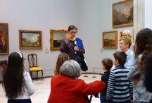 Grand Tour tra le sale della Pinacoteca / Attività didattica di #Brerasiracconta del 21 marzo 2015 dedicata ai visitatori di tutte le età.