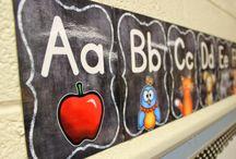 Chalkboard Classroom / by Lisa Crandall
