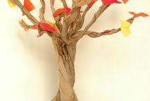 Puu syksyinen