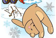 Yoga Teddy Bear Monthly!
