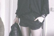moda punk,skin y rude