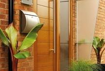 External Doors #externaldoors / Collection of fascinating external doors #externaldoors More pictures of exterior doors at https://www.modern-doors.co.uk/external-doors.html