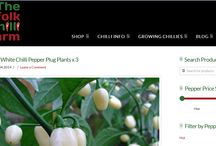 The Norfolk Chilli Farm - Specialist Chilli Pepper Plant and Product Supplier