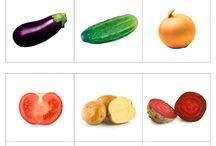karty pracy owoce i warzywa