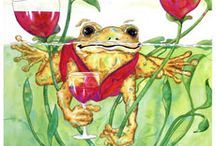 Toad Art by Maureen Erickson / Posters, prints and original artwork by our label artist, Maureen Erickson
