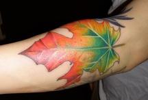 Tattoos: Leaves