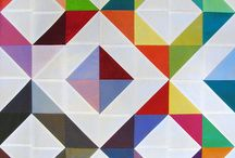 Quilts - Half Square Triangles and Flying Geese