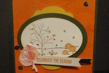 Autumn/Fall/Thanksgiving / handmade cards, decor and projects specifically for the fall/autumn season, and can be used for thanksgiving