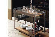 Cattelan Italia Küchenwagen / Italienische Designermöbel der Extraklasse