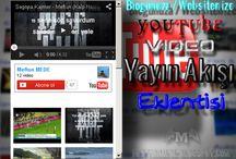 YouTube Video Yayın Akışı Eklentisi