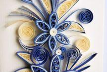 Quilling Patterns - papierowe dekoracje