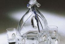 Kryształ, szkło i masa perłowa