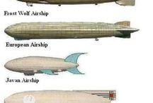 airships and hot air ballons