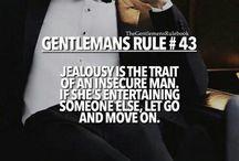 Gentlemans rule