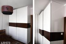 Nasze  Szafy TOPLINE / Szafy Topline to przede wszystkim oryginalny design Nowe podejście do drzwi suwanych - minimalizm i elegancja.