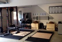 Garage gym for chuck