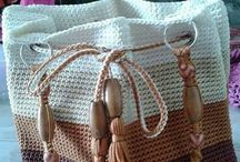 Knit and Crochet - Bags and Baskets