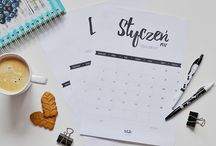 Organizacja, kalendarze, planery