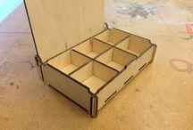 Ящики из древесины