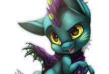 cool dragons