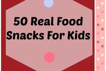 Real Food Snacks / Make real food snacks ahead of time to ensure minimalizing your processed food intake!