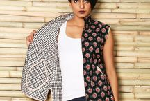 Quilted  Reversible Jackets / Get noticed this fall with these designer #reversible #quilted #jackets. / by Rajrang