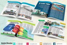 Design Editorial / Trabalhos que desenvolvi em design editorial.
