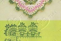 Crochet Boders / Orillas , terminado crochet / by Martha Salazar