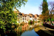 Sarland and French Alsace / Framed by the pine trees of the Black Forest and the blue-tinted Vosges mountains, this culturally unique region has a distinctly cosmopolitan feel and offers superb cruising to suit all tastes.  See timber-framed houses with vibrant flower boxes, storks nests on chimney tops, and magnificent cathedrals.