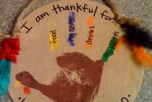 Homeschool Thanksgiving crafts