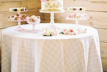 ~ Dessert Table / The Ultimate Skybox desserts and wedding cakes