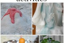 Great Winter Science Activity Ideas / Great Winter science activity ideas #science #winter