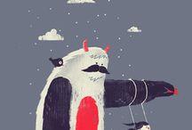 inspirations illustration / suggestioni e fonti di ispirazione