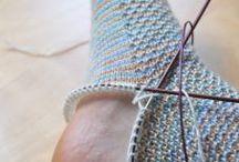 Socken häkeln-stricken